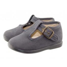 Zapatos pepitos niños serratex Grises