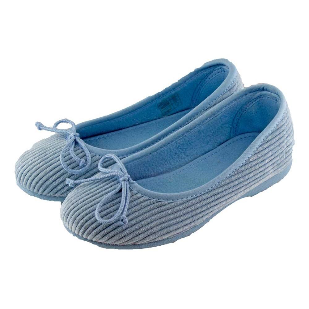 Zapatillas de casa tipo bailarina pana - Zapatillas de estar en casa de nina ...