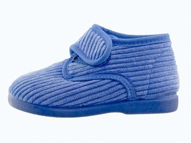 Zapatillas Casa Bota Velcro Rosas