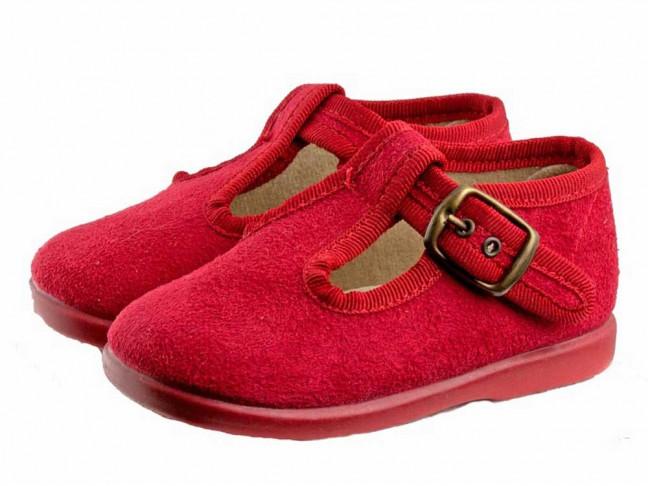 Zapatos pepitos niños serratex Marrón