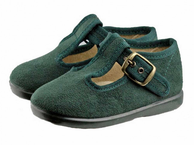 Zapatos pepitos niños serratex Verdes