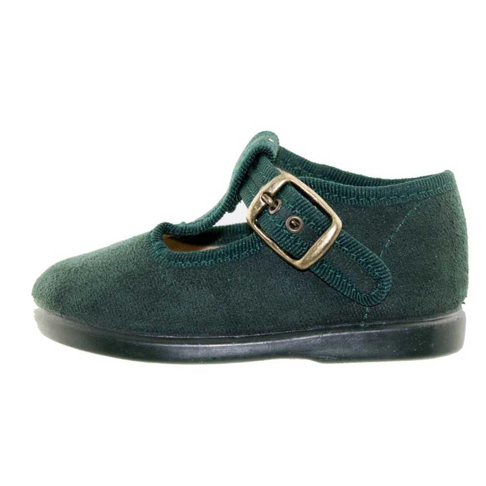 df12febb4 Zapatos pepitos niños serratex verde