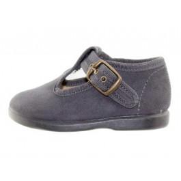 Zapatos pepitos niños serratex gris