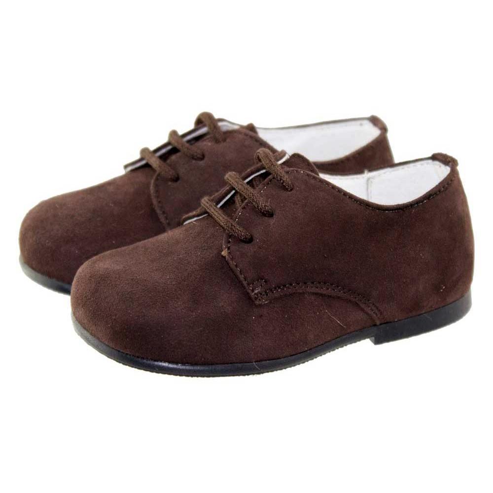 Chaussures Marron À Lacets Enfants Formels 8R0x4Wo
