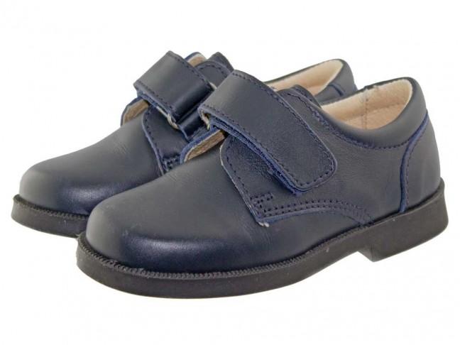 5071692ee96 Zapatos colegiales Niño Azul Marino