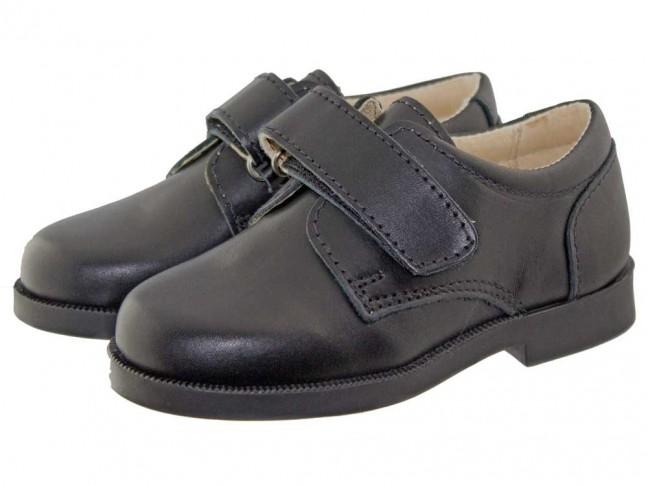 Zapatos colegiales Niño Azul Marino