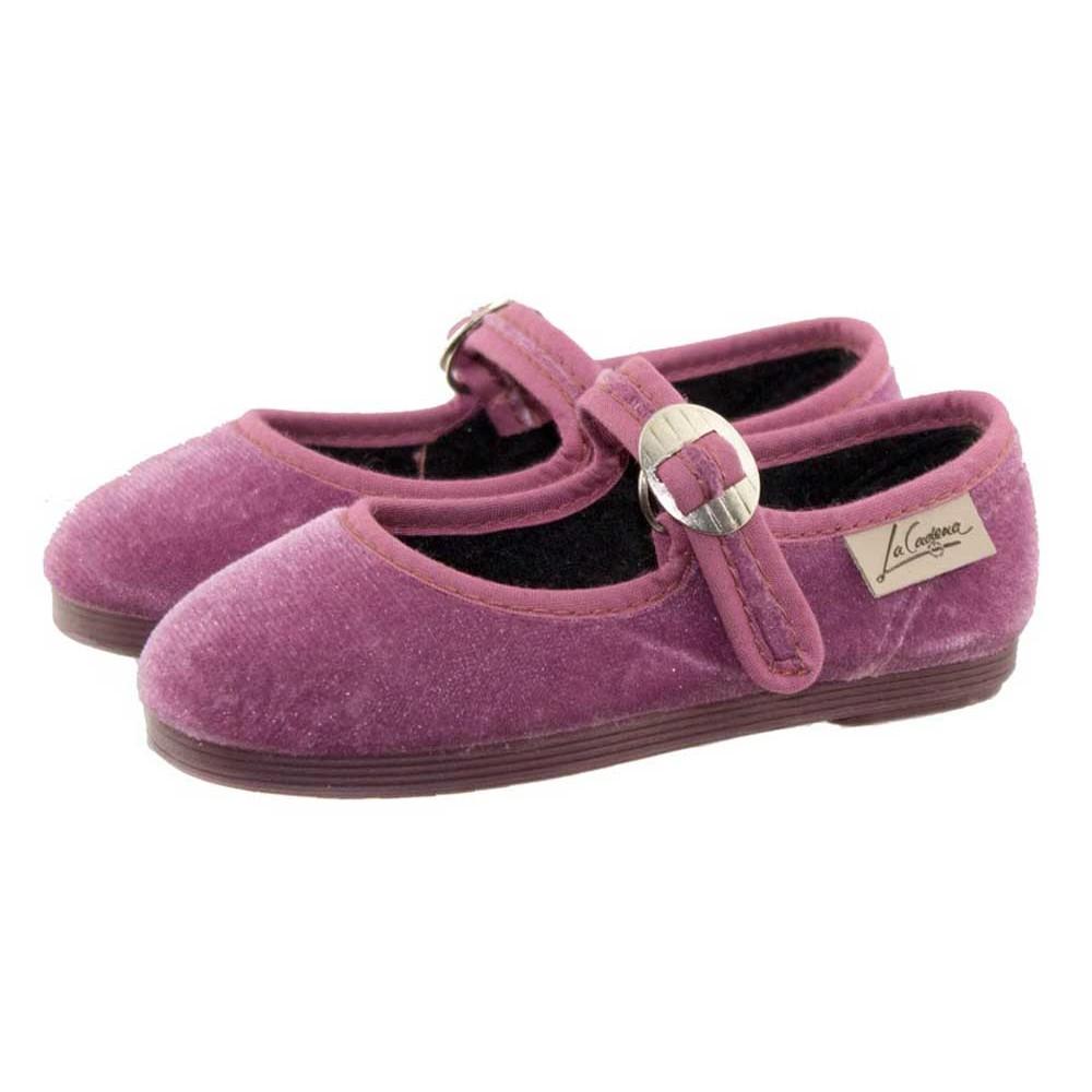calidad primero colores delicados baratas Merceditas Niñas Terciopelo La Cadena| Envios Gratis Minishoes