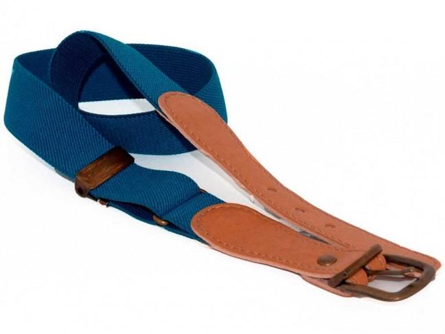 Cinturon Niños Lisos azul