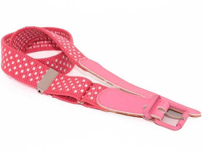 Cinturón Niños Topos rosa