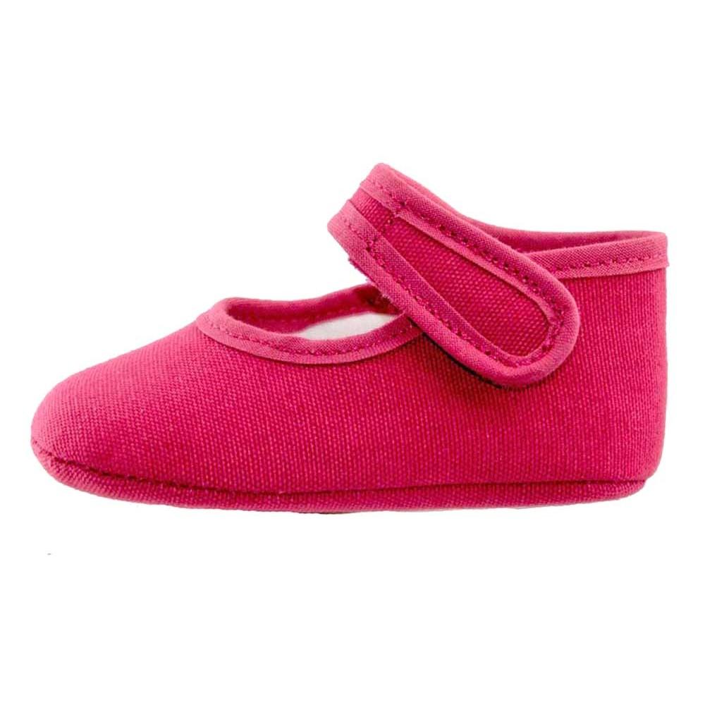 186ee7d6c Merceditas bebé tela rosa