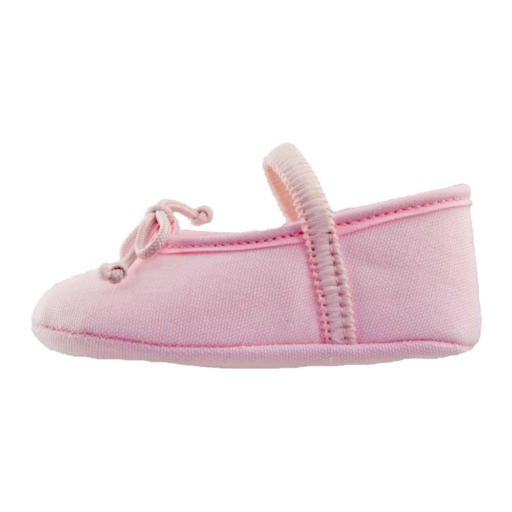 5a5be5b44 Bailarinas Bebé tela rosa