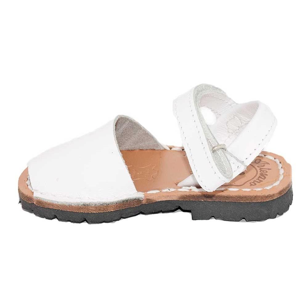 ef612690d Menorquinas Velcro niño niña blanco