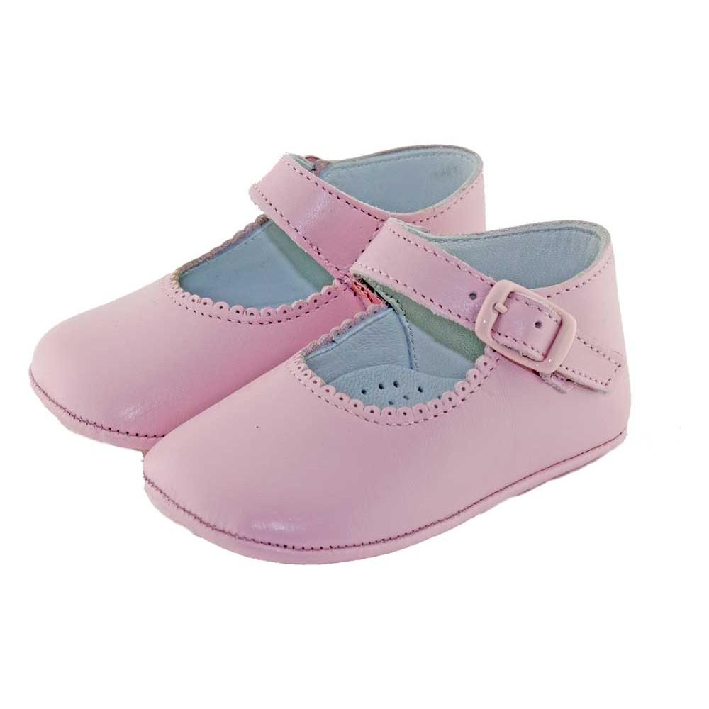 947dbb80 Merceditas Bebé Piel Hebilla   Badanitas bebé   Minishoes