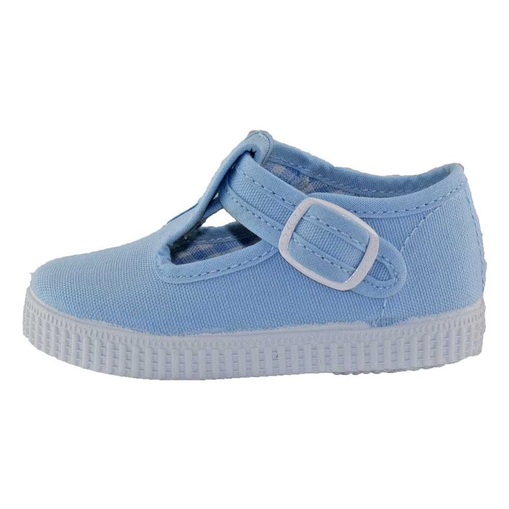e1464e404 Zapatos Pepitos lona niños Tenis azul bebe