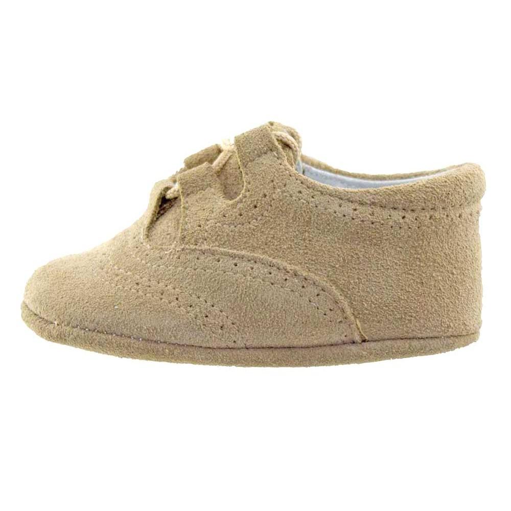 205381bb9 Zapatos Inglesitos bebe serraje beis
