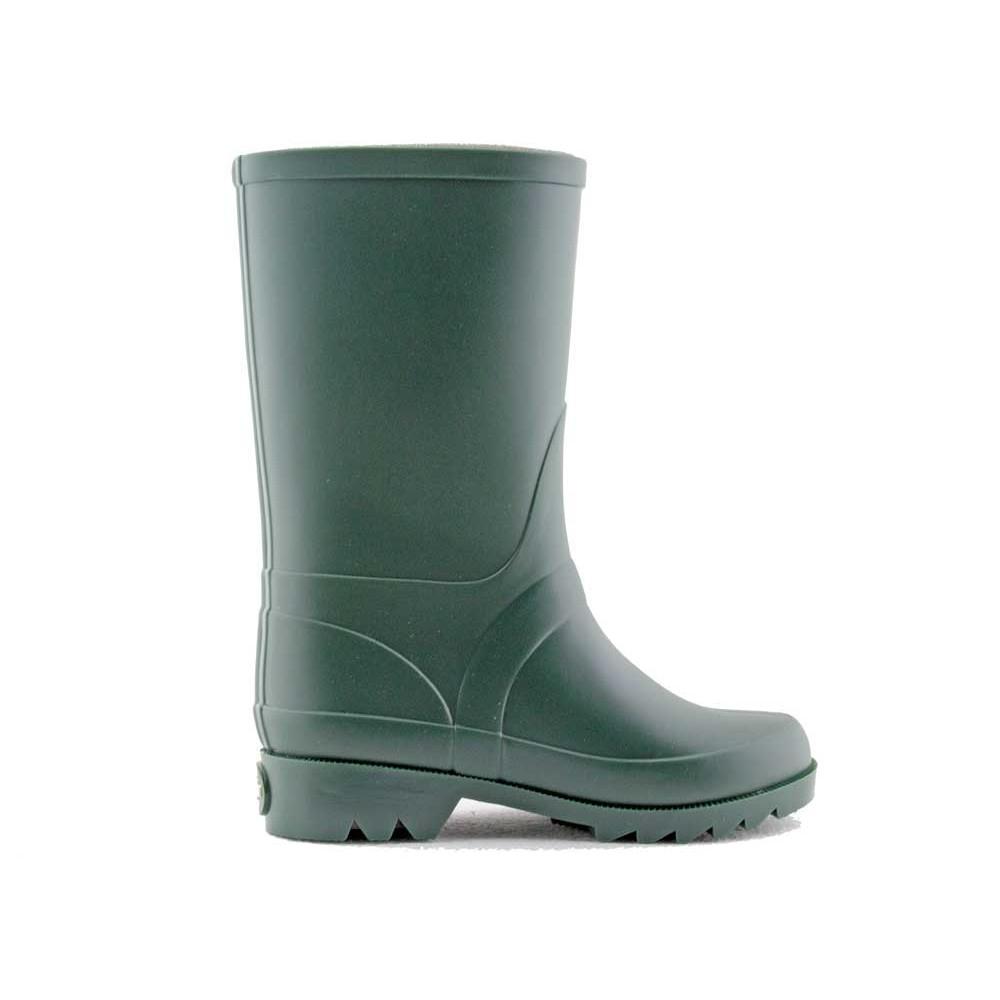 3805d130f82f9 Botas de agua niña niño hebilla verde