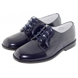 Zapatos Blucher Niño Niña Antik azul marino