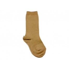 Calcetines niños Condor lisos Altos camel