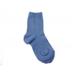 Calcetines niños Condor punto liso azulado