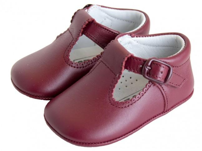 Zapatos Pepitos bebé piel azul