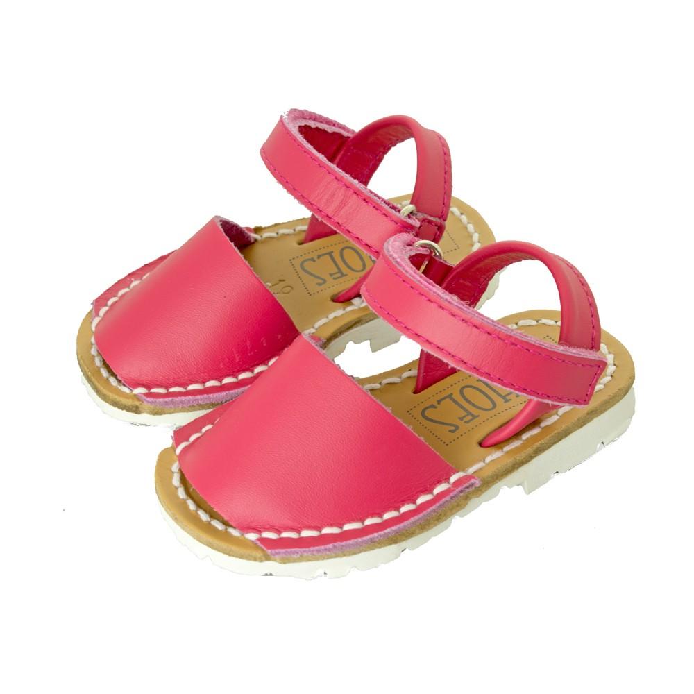 Menorquinas abarcas velcro ni os calzado infantil barato for Casas zapatos ninos