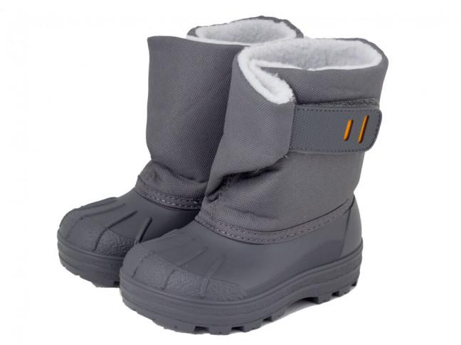 Botas de nieve niño niña Apres ski IGOR gris