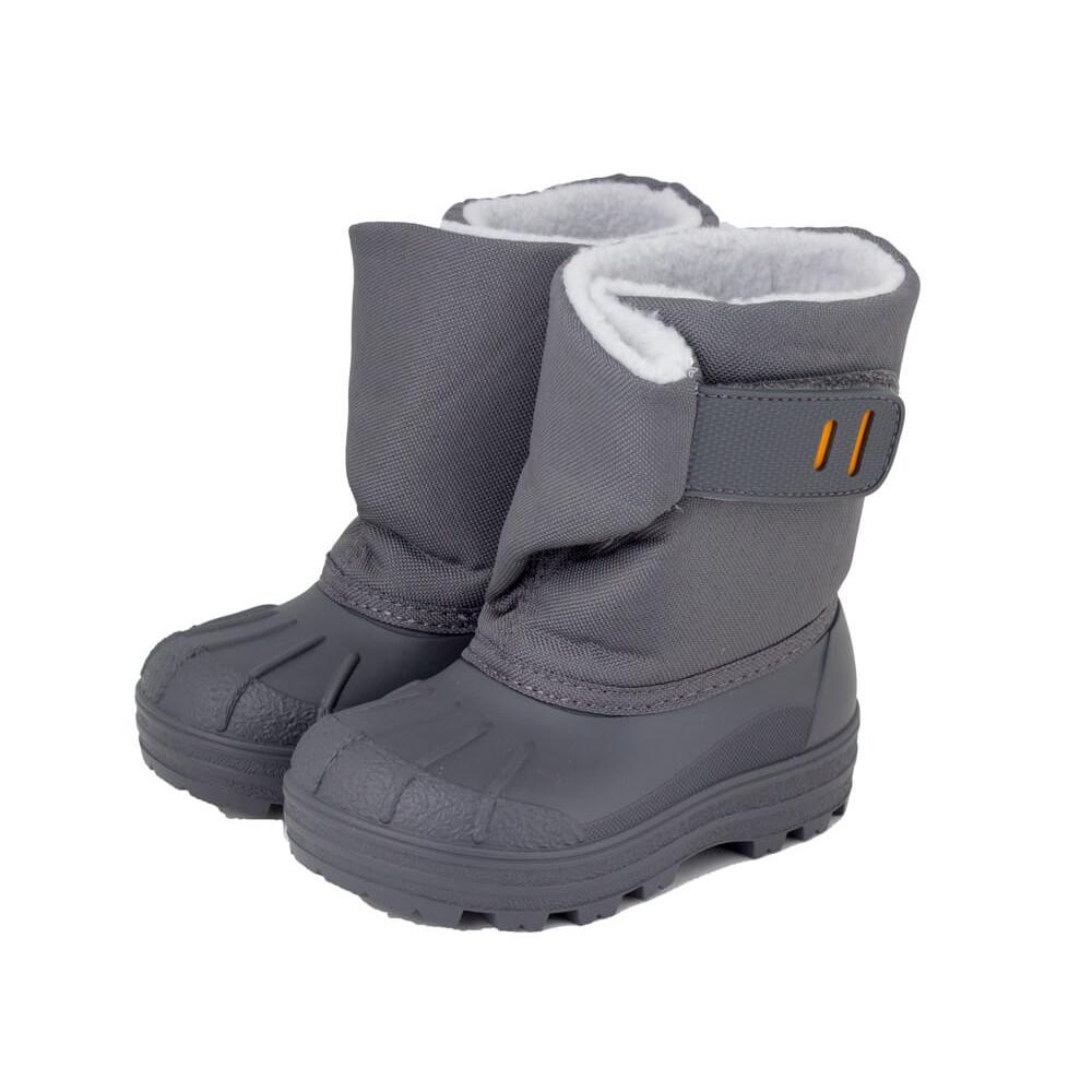 6aba0031a75 Botas de nieve niño niña Apres ski IGOR gris