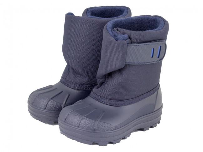 2060f973a58 Botas de nieve niño niña Apres ski IGOR azul marino