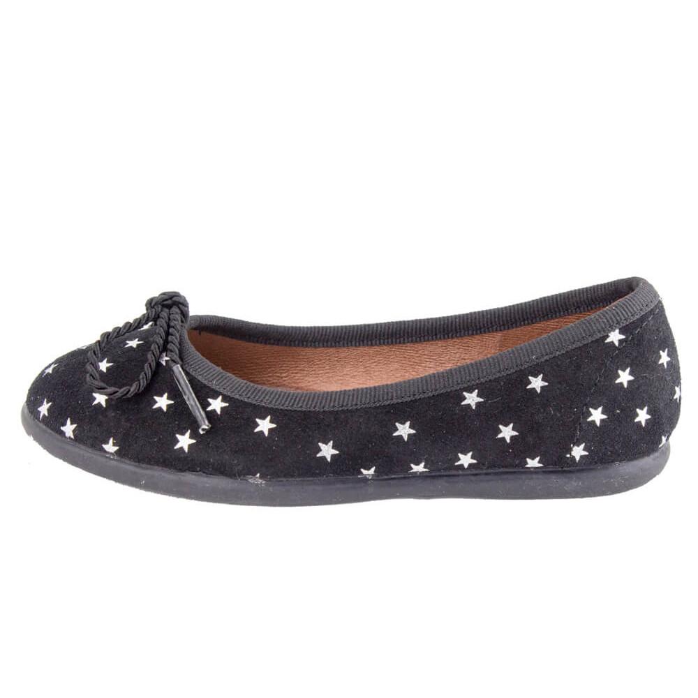 07d46e32c Bailarinas niña serraje estrellas negro