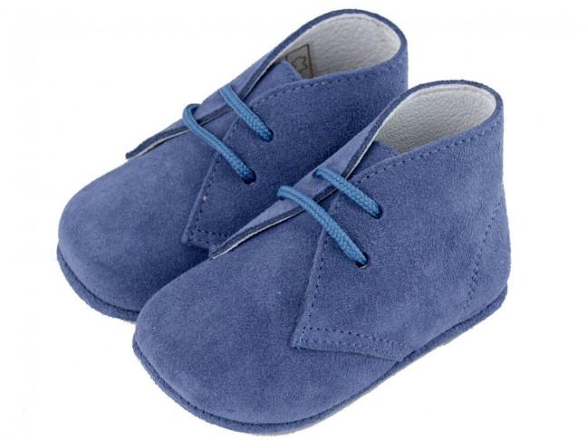 Pisacacas bebé serraje azul jeans
