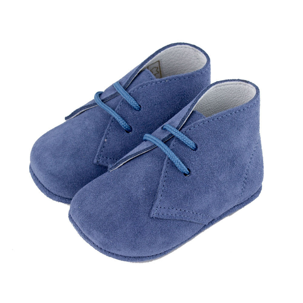 0b35b37549ab6 Pisacacas bebé serraje azul jeans