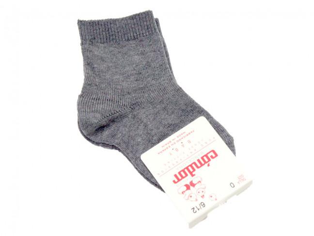 Calcetines niños Condor bajos gris