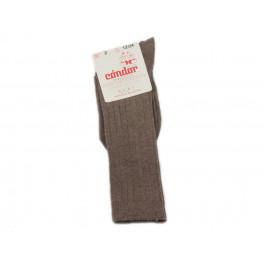 Calcetines niños Condor Altos Melange marrón