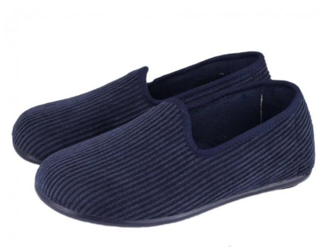Zapatillas de estar por casa pana niño