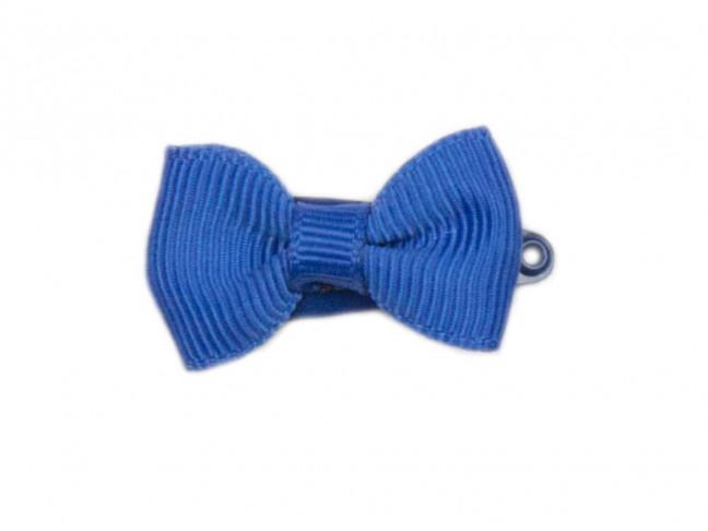 Ranita Niñas con lazo de 3 cm azul francia