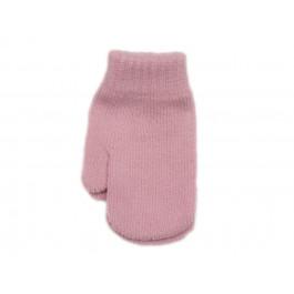 Guantes bebe manoplas rosa palo