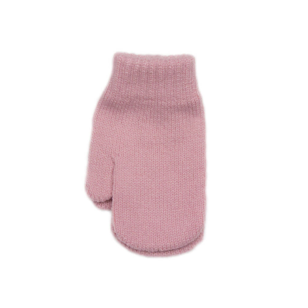 9f4248cea236b Guantes bebe manoplas rosa palo