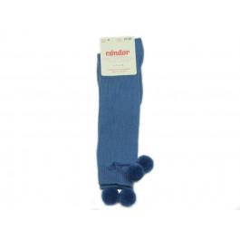 Calcetines niños Condor Borlones azul francia