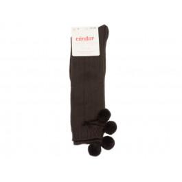Calcetines niños Condor Borlones marrón