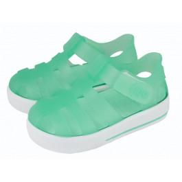 Cangrejeras niño niña Velcro verde aguamarina