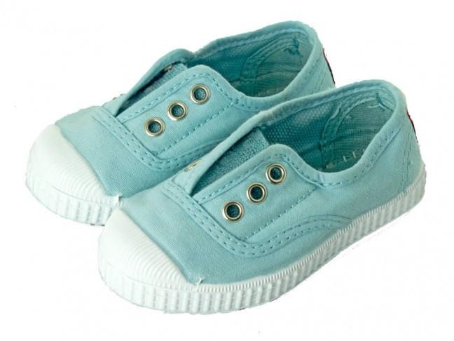Bambas lavadas niño niña azul bebé