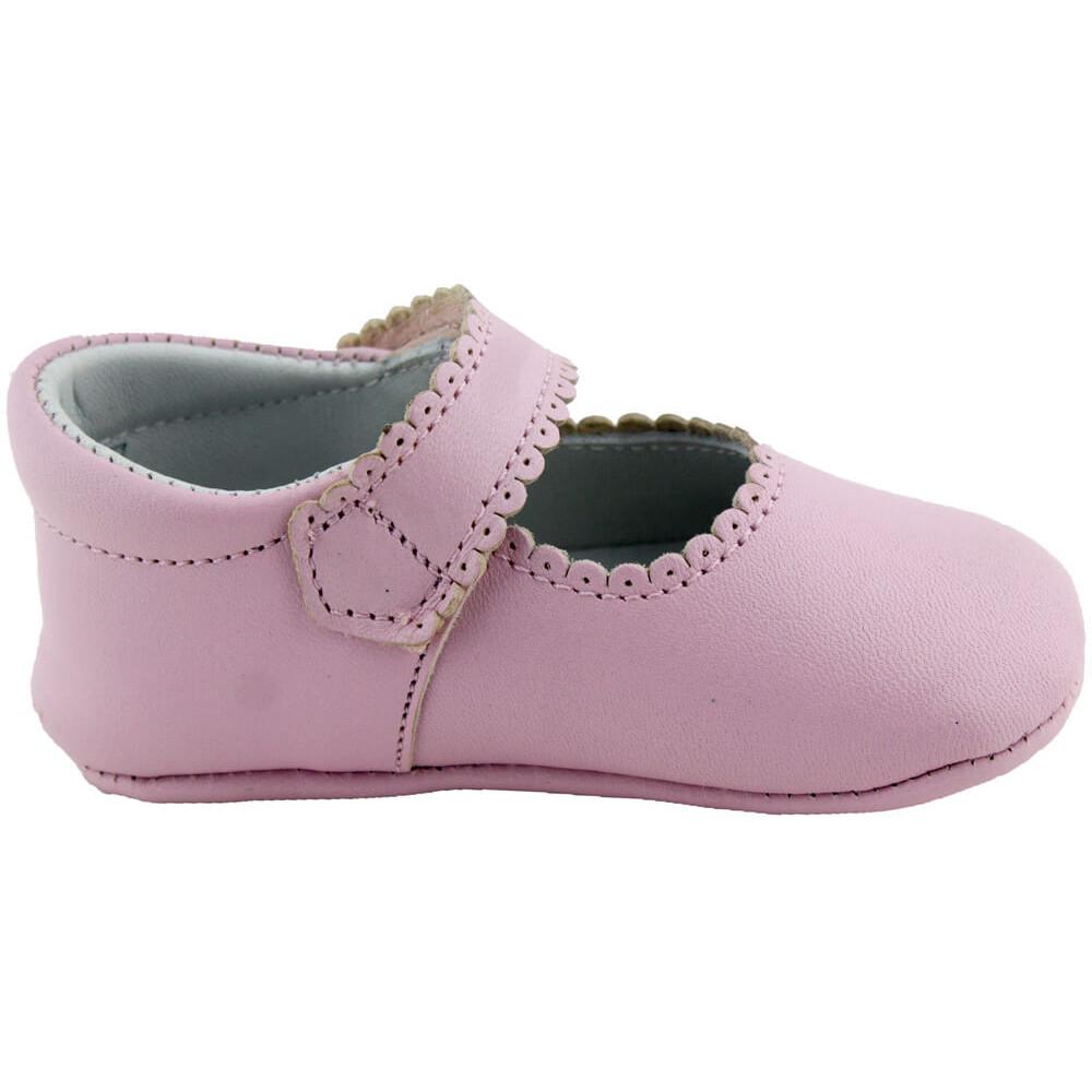 ce9ab15b Merceditas bebé piel botón  Merceditas bebé  Minishoes