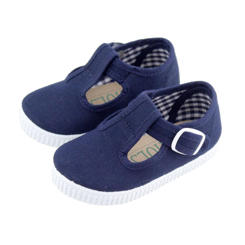 53bbd26dc Zapatos Pepitos lona niños Tenis AZUL MARINO