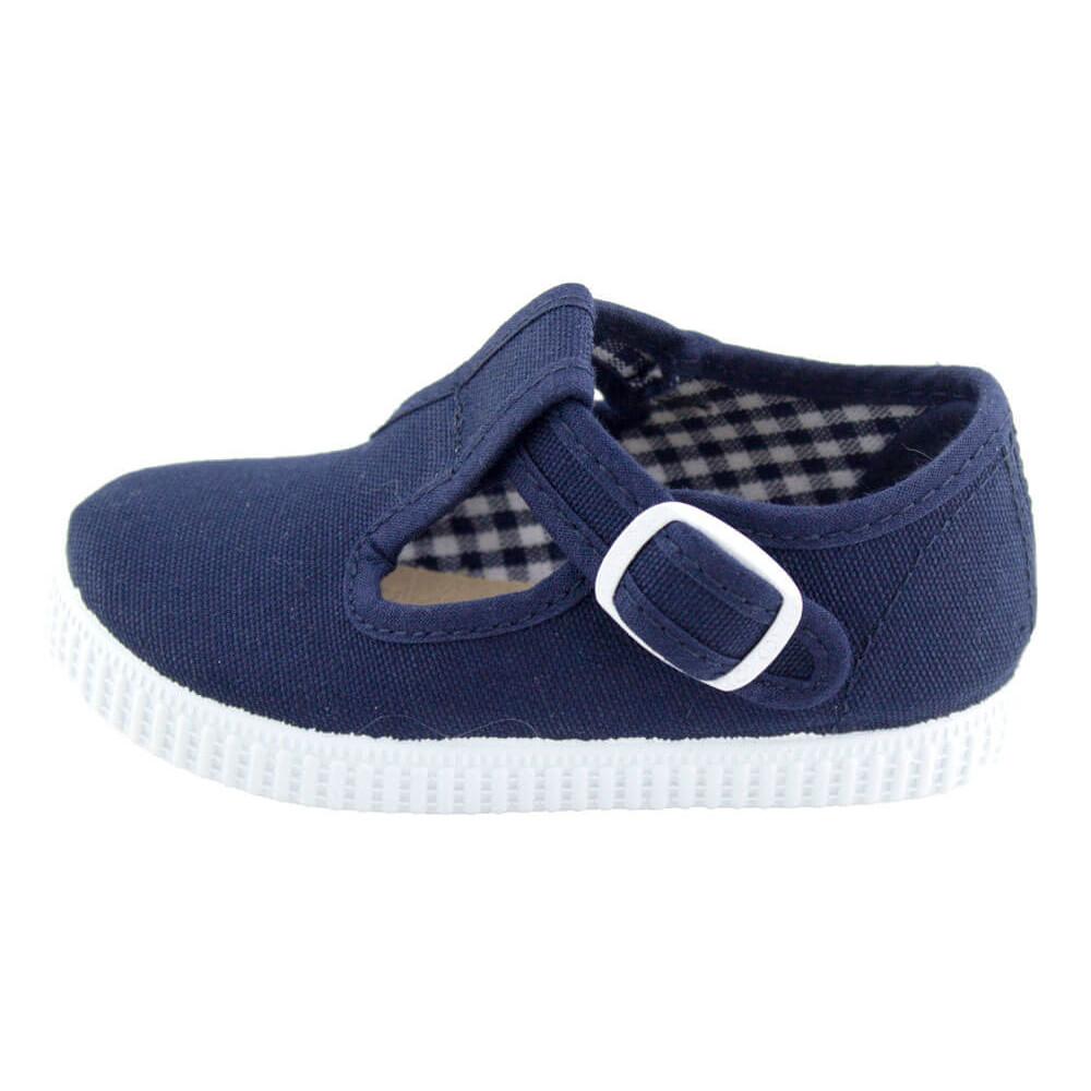 e81711f06 Zapatos Pepitos lona niños Tenis AZUL MARINO
