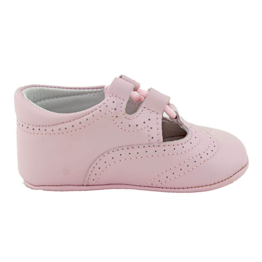 64f4f07b61f25 Zapatos inglesitos bebé piel rosa claro