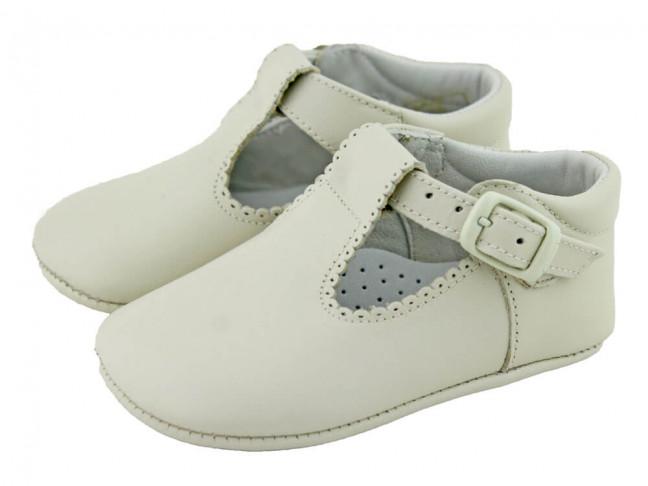Zapatos Pepitos bebé piel beige