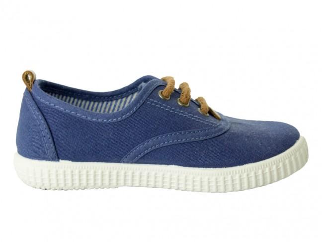 Zapatillas Urbanas niña niño azul marino