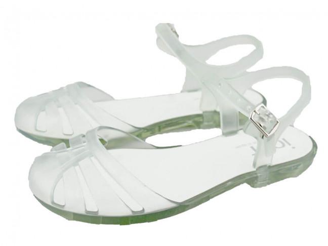 Sandalias Cangrejeras niña IGOR blancas
