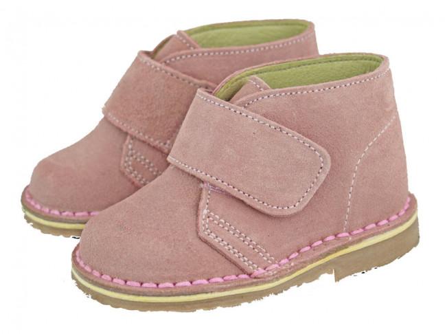 Pisacacas Niño Niña Velcro rosa