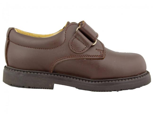 Zapatos colegiales Niño marrones